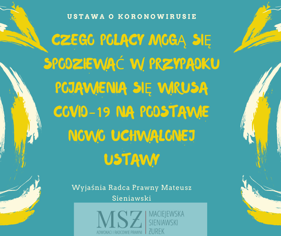 wpływ koronawirusa na codzienne funkcjonowanie Polaków